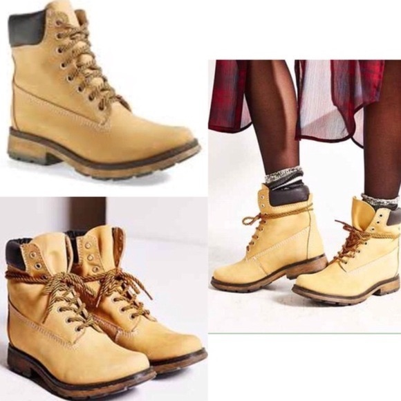Steve Madden Leather Pasa Work Boots